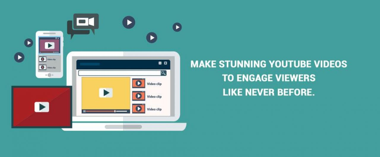 Make stunning YouTube videos to engage viewers like never before